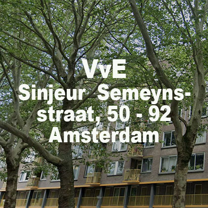 VvE Sinjeur Semeynsstraat 50-92 Amsterdam